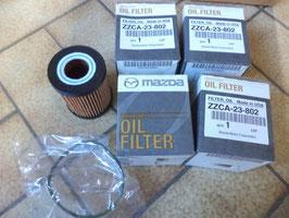 n°ma99 lot filtre huile mazda cx7 3 6 mpv zzca23802