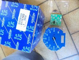 n°c106 compte tours bleu peugeot 106 6113nq
