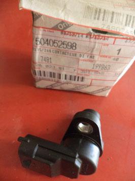 n°w221 capteur arbre cames fiat ducato 504052598