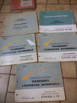 n°rn53 revue auto expertise citroen ami 8 gs dyane 2cv 250 400