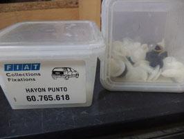 n°fv315 kit agrafe et fixation punto hayon 60765618