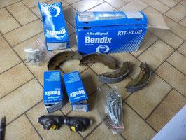 n°gd341 kit frein arriere peugeot 104 r14 r18 fuego 391023b bendix