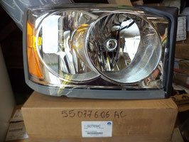 n°z405 phare avd dodge ram 55077606ac