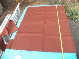 n°e436 tissu etoffe marron caramel mercedes w123 0019838582