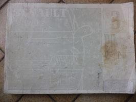 n°rn58 catalogue pieces detachées renault espace 2 pr1234