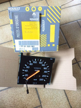 n°c97 compteur jaeger renault fuego 7701025961