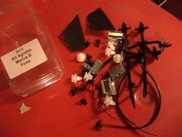 n°au111 kit agrafes porte opel meriva B 8412