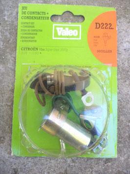 n°vm120 jeu contact condensateur citroen visa d222