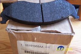 n°71 plaquette de frein cherokee wrangler 5191955aa