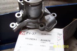 pompe a eau coupe hyundai 2510023001