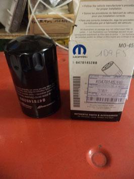 n°w305 filtre huile chrysler pt cruiser cherokee 4781452bb