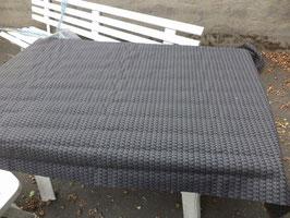 n°e432 tissu etoffe noir gris mercedes w123 0019834982
