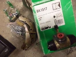 n°g127 kit frein audi 100 80 caddy bk1517