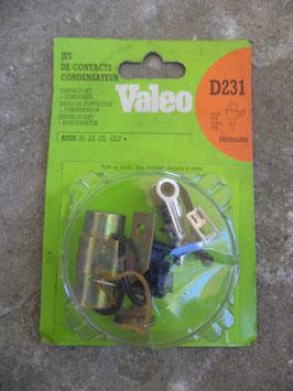 n°vm101 jeu contact condensateur audi 50 d231