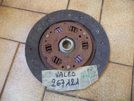 n°gd610 disque embrayage citroen cx renault r18 267121 valeo 185820