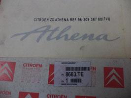 n°h87 stickers ATHENA citroen zx 8663te
