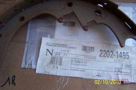 n°55 kit machoire arriere cherokee 2.8 crd