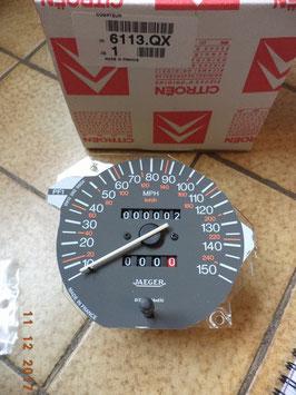 n°c73 compteur jaeger mph citroen zx diesel 6113qx