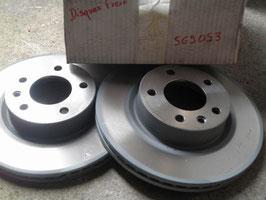 n°p32 jeu disques opel omega 569053