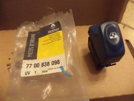 n°159 interrupteur vitre renault twingo 7700838098