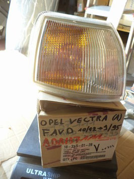 n°b180 clignotant avd opel vectra 183315012b