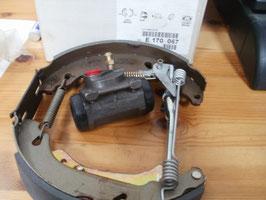 n°0092 kit frein arriere peugeot 206 e170067