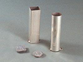 Bodenhülsen / Deckel für Bodenhülsen