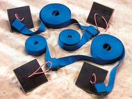 Spielfeldmarkierung Turnier blau