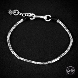 Bracelet souple en argent 66