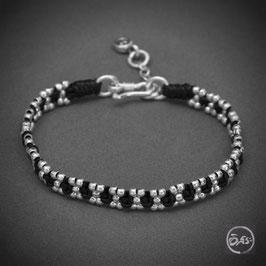 Bracelet souple en argent 40