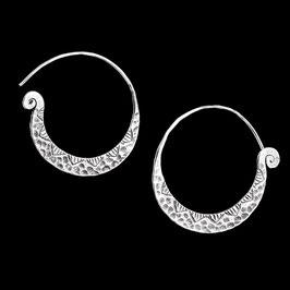 Boucles d'oreilles en argent ethniques 11
