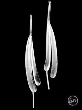 Boucles d'oreilles en argent créateur 06