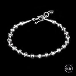 Bracelet souple en argent 68