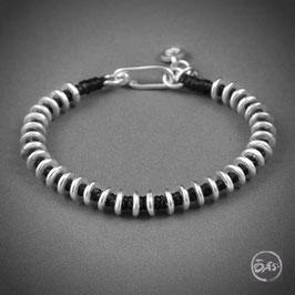 Bracelet souple en argent 18