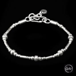 Bracelet souple en argent 23