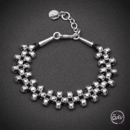 Bracelet souple en argent 54
