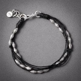 Bracelet souple en argent 01