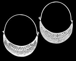 Boucles d'oreilles en argent ethniques 10