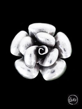 Bague en argent fleur 21