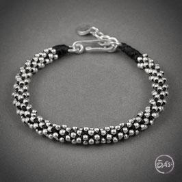 Bracelet souple en argent 21