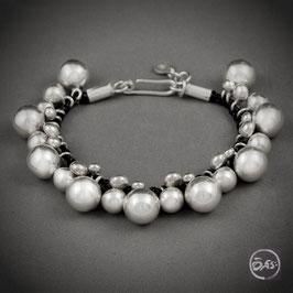 Bracelet souple en argent 46
