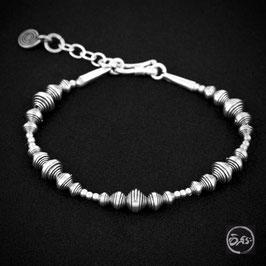 Bracelet souple en argent 69