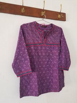 Tunique violet courte