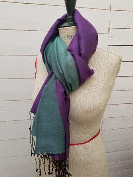 Echarpe laine et viscose