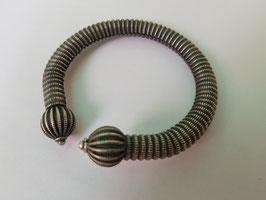 Bracelet ouvert torsade