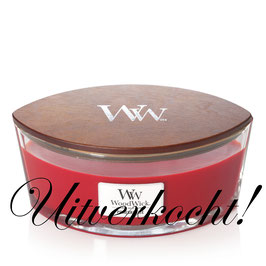 Woodwick Ellipse pomegranate ***uitverkocht***