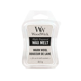 Woodwick Wax melt warm wool