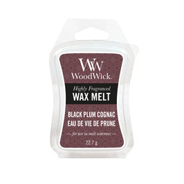 Woodwick Wax melt black plum cognac