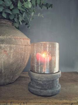 Stenen onderzetter voor kaarsen, merk Still (exclusief windlicht)