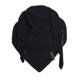 Zwarte omslagdoek Coco
